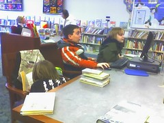 Kids at the library