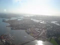 Approaching Sydney
