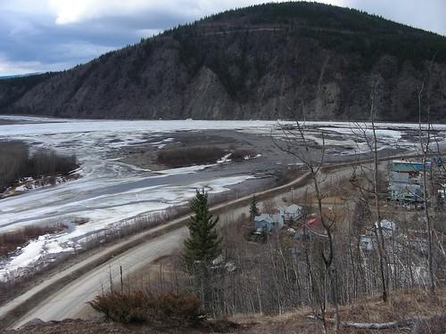 Klondike flows into Yukon River