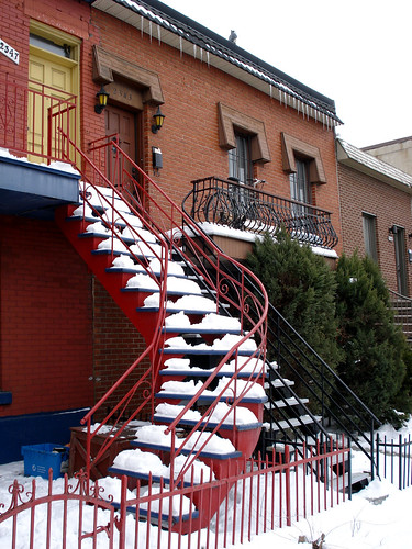 Snowy Stair