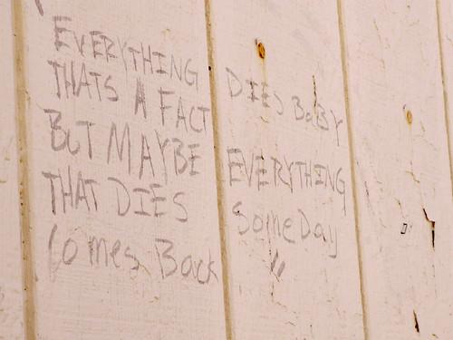 Asbury Park Eulogy in Grafitti