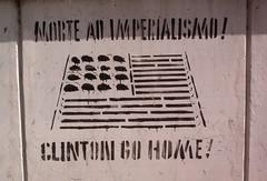 Anti-imperialism Stencil