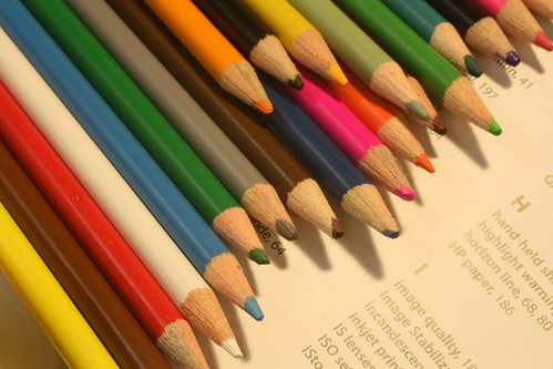Colored Pencils V