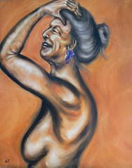 Truth - 24x24 Oils on Canvas