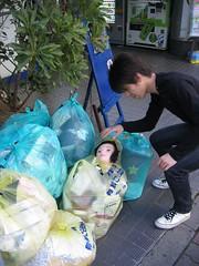 Tete poubelles