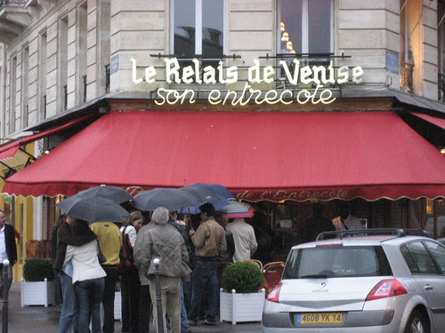 Steak hungry in paris for L entrecote porte maillot
