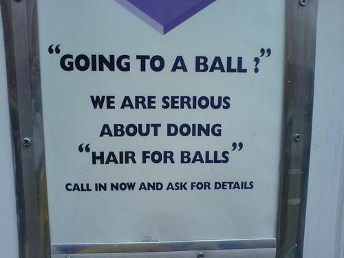 Hair for balls