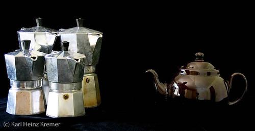 Self Portrait in Tea Pot