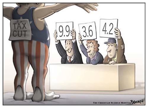 Tax cuts - judging panel