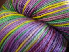 Artsy sock yarn