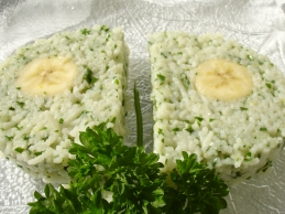 Banana Gremolata Terrine finished