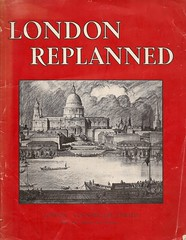 London Replanned - book cover, 1942