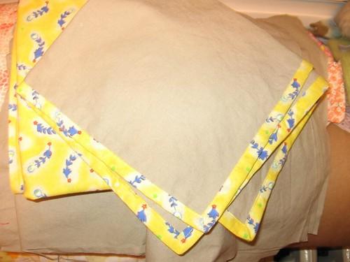 Molly's handmade napkins
