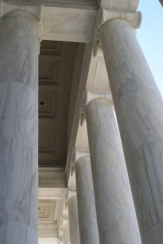 The Jefferson Memorial in Washington, DC