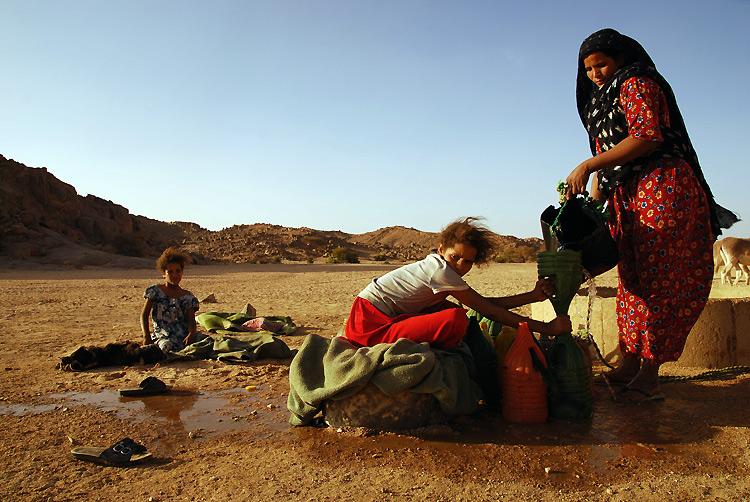 撒哈拉沙漠里的水