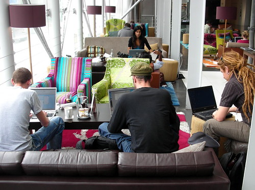 BFI MOMI Cafe by Tony Hall
