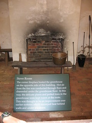 Mount Vernon stove room