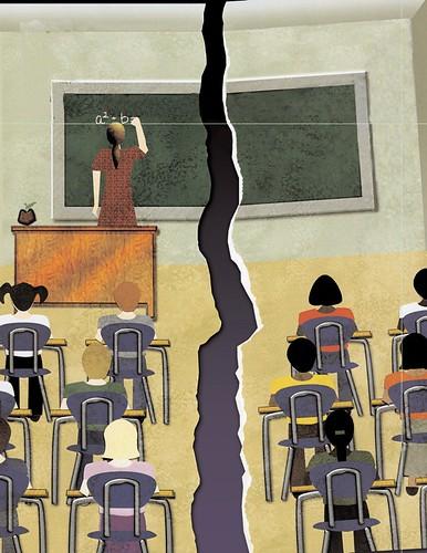 split classroom
