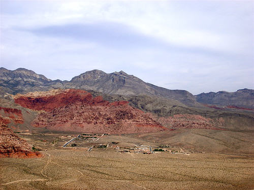 View of Calico Basin in Red Rock
