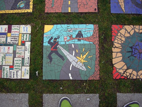 Mosaic Garden Art Vancouver Bc On Flickr U2013 By Carlo The B Tard
