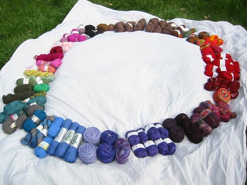 yarn color wheel