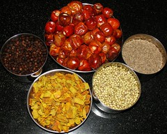 masala items