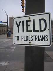 Yield to Pedestrians
