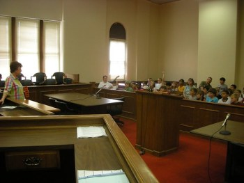 In the Court Room