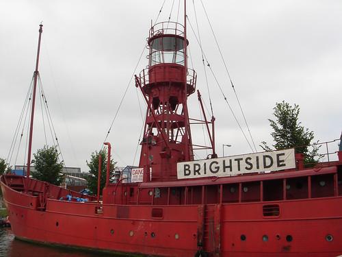 lighthouse boat.