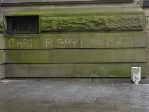 Chavs Are Gay