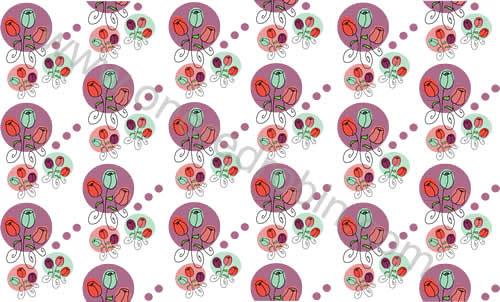 """Three Roses"" Pattern by j.m.aranez."