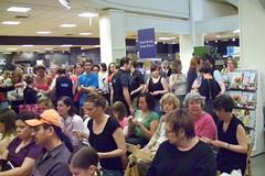 Yarn Harlot event crowd