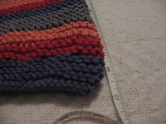 Garter stitch stripes