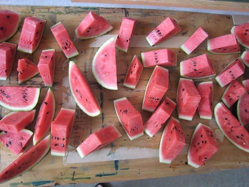 Delicious watermelon