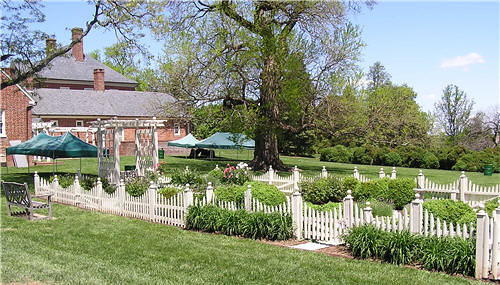 Montpelier Mansion Garden