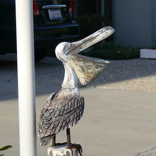 Pelican Yard Art