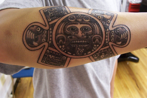 I hope you enjoyed this collection of beautiful Aztec tattoos. Aztec Taken from the Aztec Calendar.