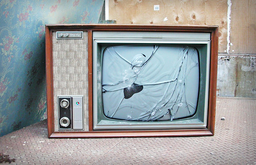 σπασμ�νη τηλεόραση