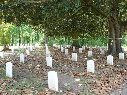 Confederate Graves, Friendship Cemetery in Columbus, MS