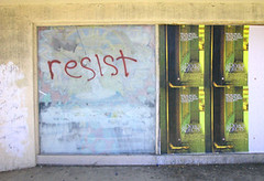 Resist or don't