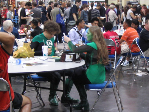 Even the Green Lantern Corp have to take a lunch
