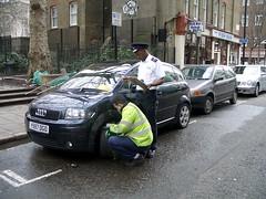 Traffic Warden Clamping