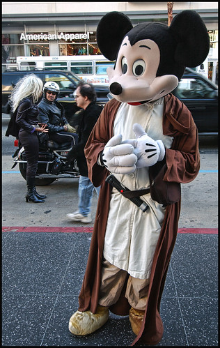mickey mouse obi wan star wars