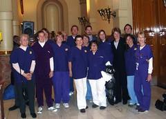 Nurses attend signing ceremony