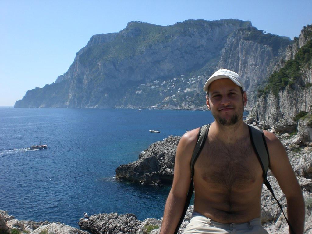 vista de Capri por el lado sur