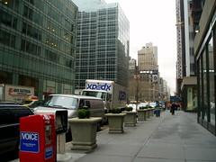 Along 44th street
