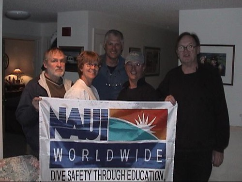 Richard Leverone and NAUI Staff