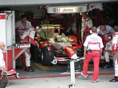 09.Jarno Trulli也準備進賽車