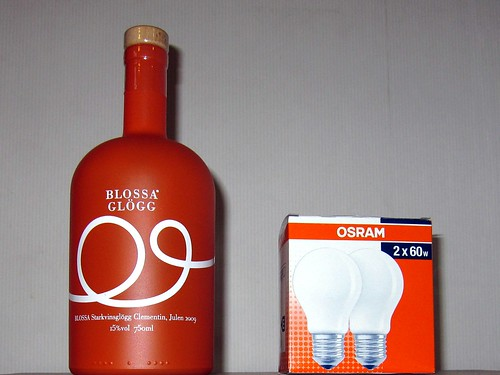 bottle and box