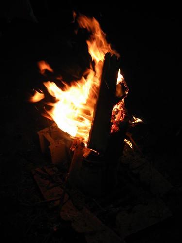 Lag B'Omer Bonfire
